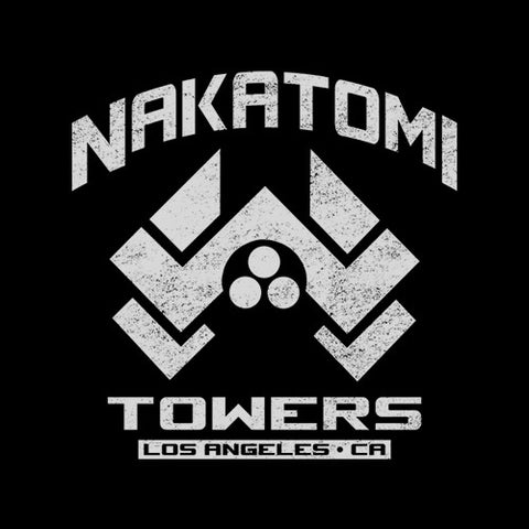 Nakatomi Towers T-Shirt - FiveFingerTees