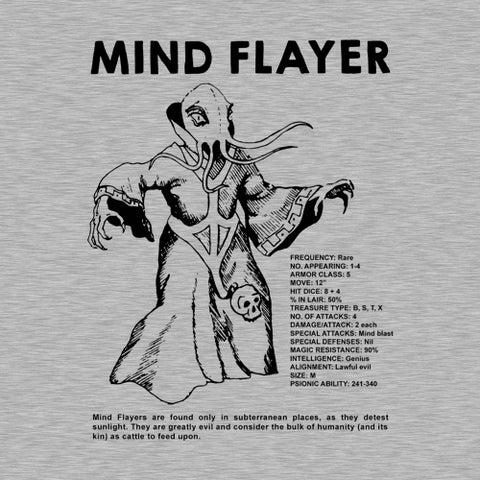 Mind Flayer T-Shirt - FiveFingerTees