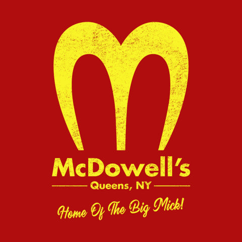 McDowell's T-Shirt - FiveFingerTees