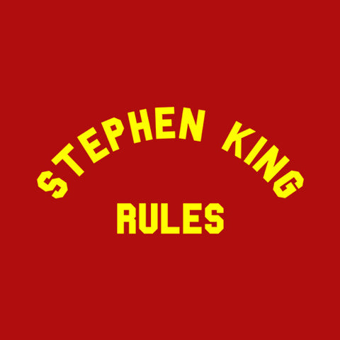 Stephen King Rules T-Shirt - FiveFingerTees