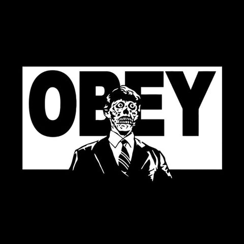They Live Obey T-Shirt - FiveFingerTees
