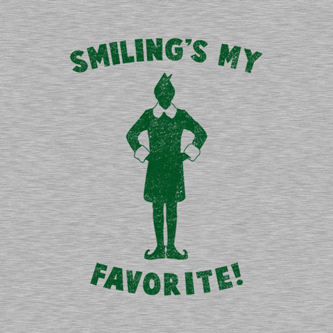 Smiling's My Favorite T-Shirt - FiveFingerTees