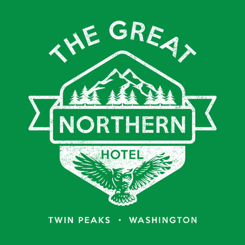 The Great Northern Hotel T-Shirt - FiveFingerTees