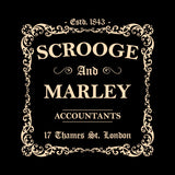 Scrooge and Marley Accountants Hoodie - FiveFingerTees