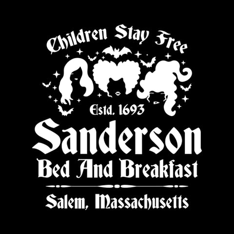 Sanderson Bed And Breakfast T-Shirt - FiveFingerTees