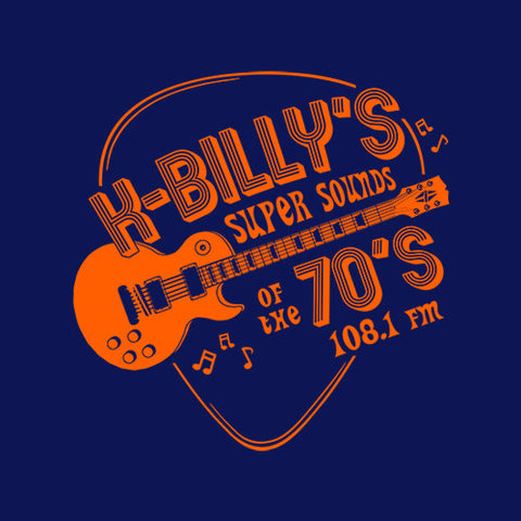 K-Billy's Super Sounds Of The 70's T-Shirt