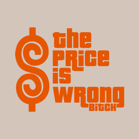 The Price Is Wrong Bitch T-Shirt - FiveFingerTees