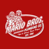 Mario Brothers Plumbing Co. T-Shirt