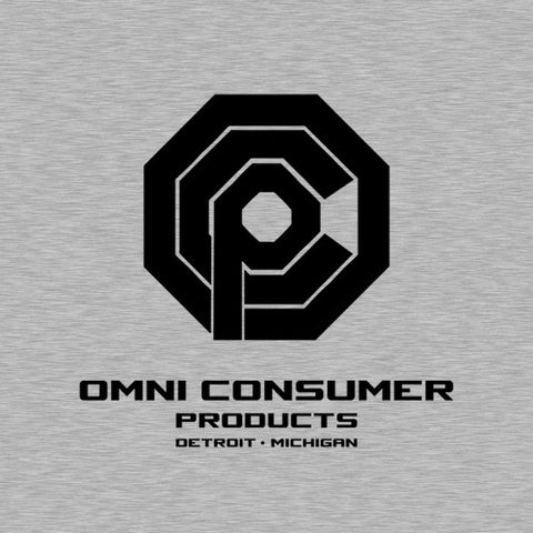 Omni Consumer Products T-Shirt - FiveFingerTees