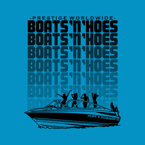 Boats N' Hoes T-Shirt - FiveFingerTees