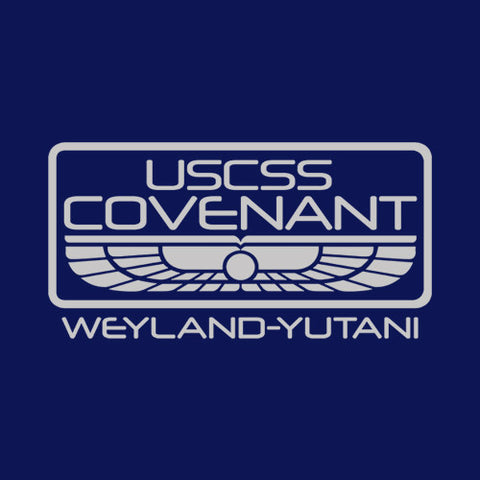 USCSS Covenant T-Shirt - FiveFingerTees