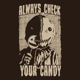 Always Check Your Candy T-Shirt - FiveFingerTees