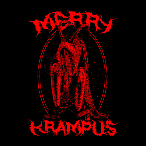 Merry Krampus T-Shirt - FiveFingerTees