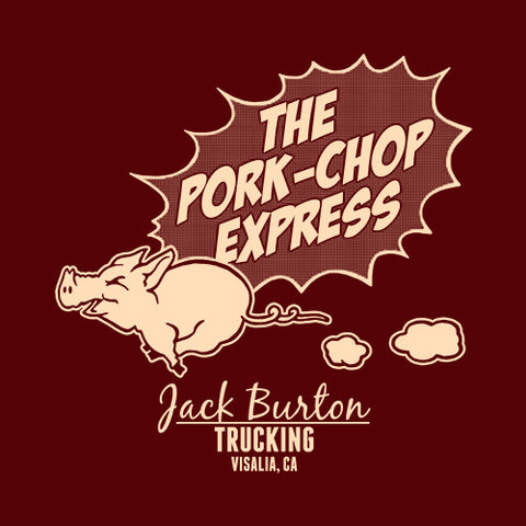 The Pork-Chop Express T-Shirt - FiveFingerTees