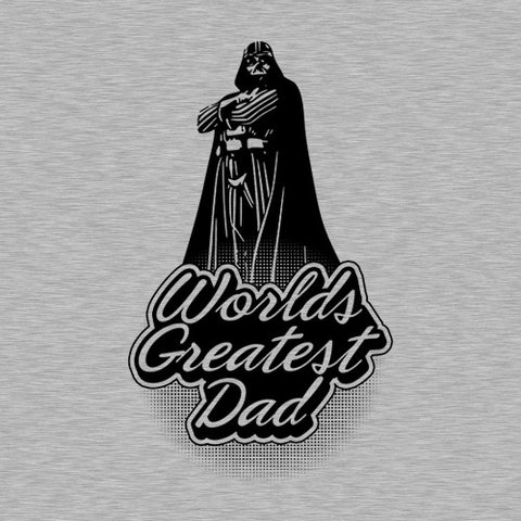 Worlds Greatest Dad T-Shirt - FiveFingerTees