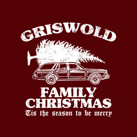 Griswold Family Christmas T-Shirt - FiveFingerTees