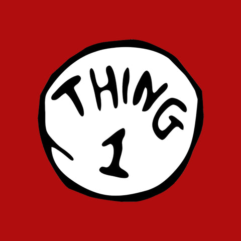 Thing 1 T-Shirt - FiveFingerTees