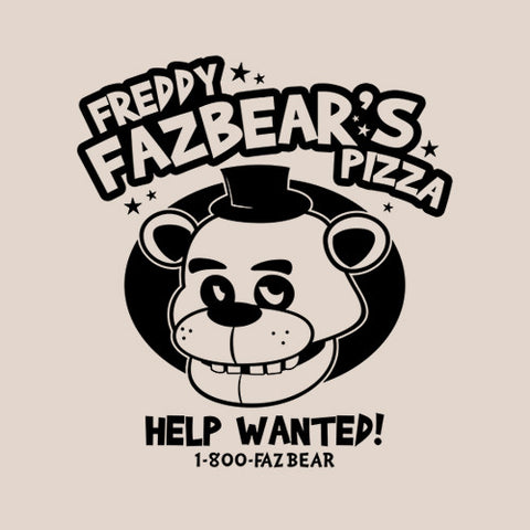 Freddy Fazbear's Pizza T-Shirt - FiveFingerTees
