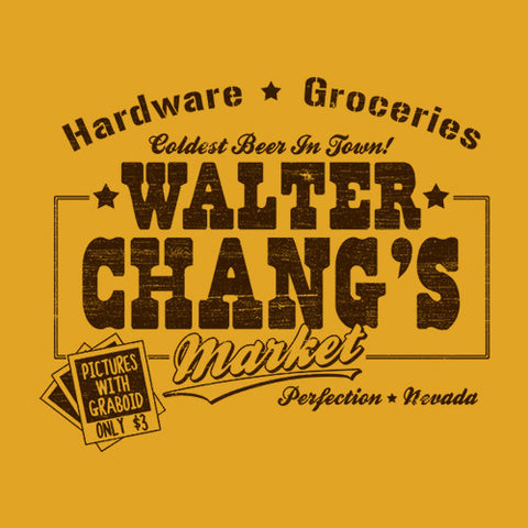 Walter Chang's Market T-Shirt - FiveFingerTees