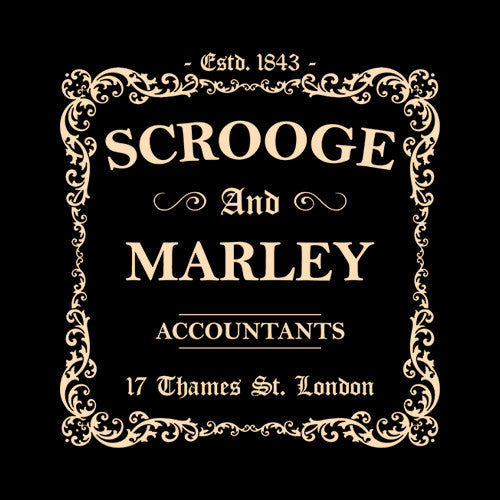Scrooge and Marley Accountants T-Shirt
