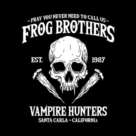 Frog Brothers Vampire Hunters T-Shirt - FiveFingerTees