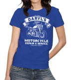 Daryl's Custom Motorcycle Repair & Service T-Shirt - FiveFingerTees