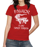 Falkor Is My Spirit Animal T-Shirt - FiveFingerTees