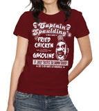 Captain Spaulding's Fried Chicken And Gasoline T-Shirt - FiveFingerTees
