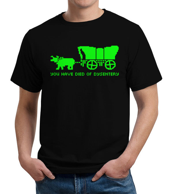 You Have Died Of Dysentery T-Shirt - FiveFingerTees