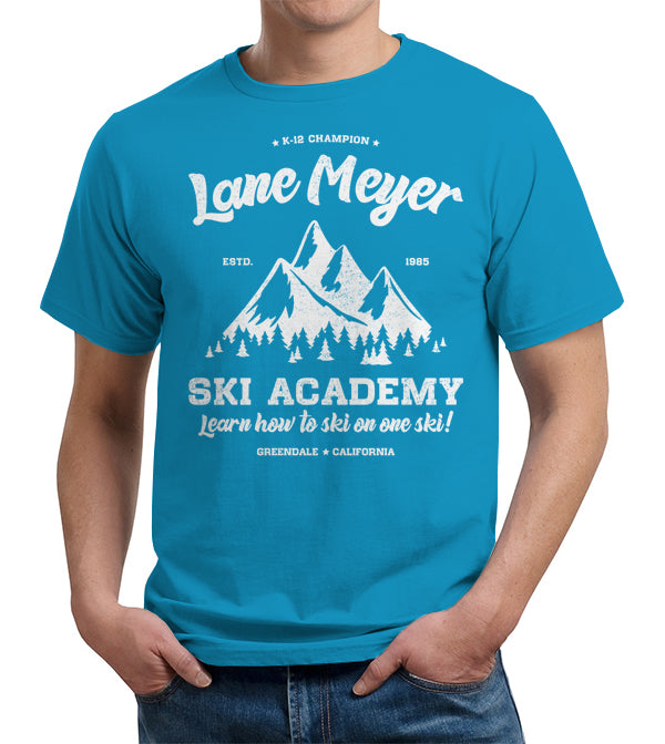 Lane Meyer Ski Academy T-Shirt - FiveFingerTees