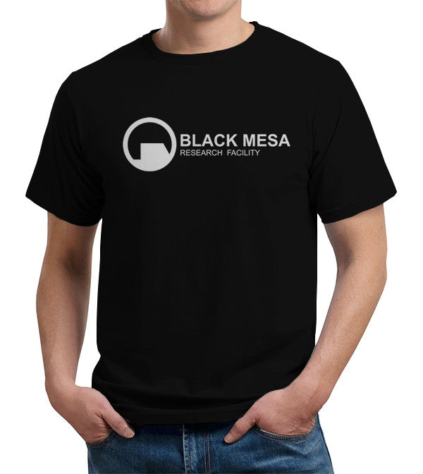 Black Mesa Research Facility T-Shirt - FiveFingerTees
