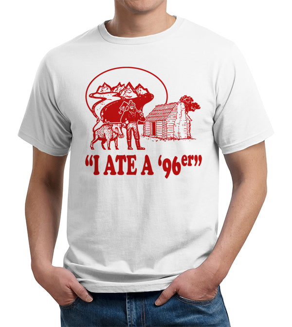 I Ate A '96er T-Shirt - FiveFingerTees