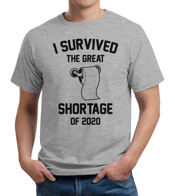I Survived The Great Toilet Paper Shortage Of 2020 T-Shirt - FiveFingerTees