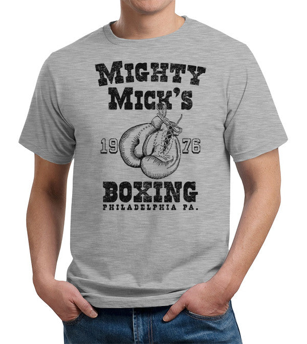 Mighty Mick's Boxing T-Shirt - FiveFingerTees