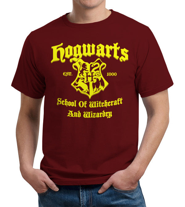 Hogwarts School Of Witchcraft And Wizardry T-Shirt - FiveFingerTees