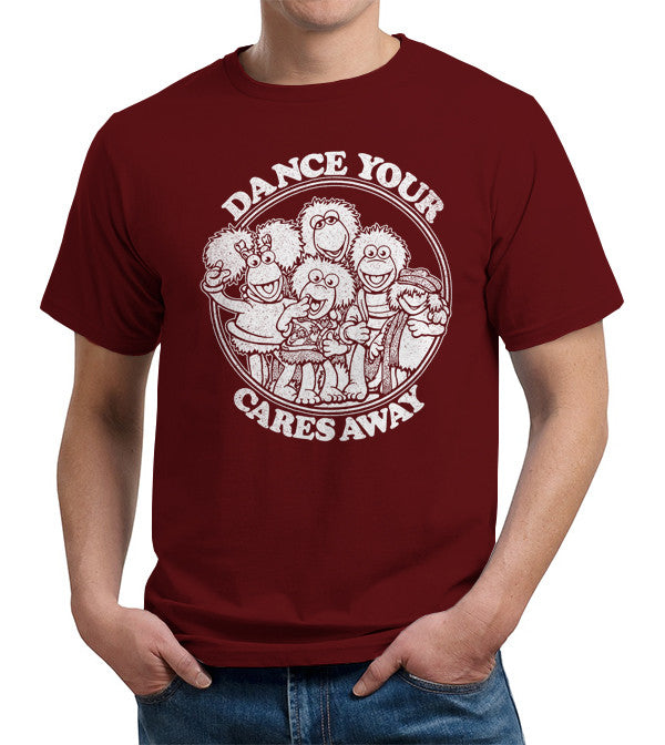 Dance Your Cares Away T-Shirt - FiveFingerTees