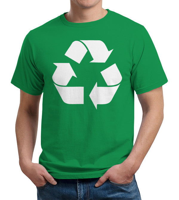 Recycle Symbol T-Shirt - FiveFingerTees