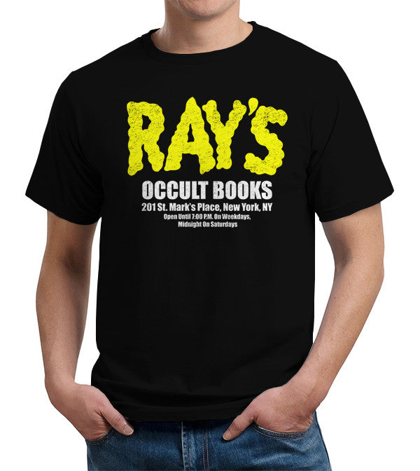 Ray's Occult Books T-Shirt - FiveFingerTees