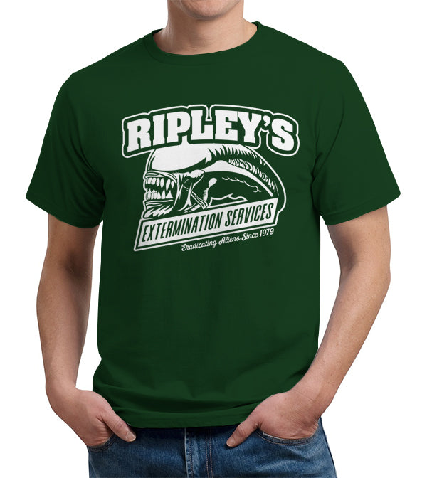 Ripley's Extermination Services T-Shirt - FiveFingerTees