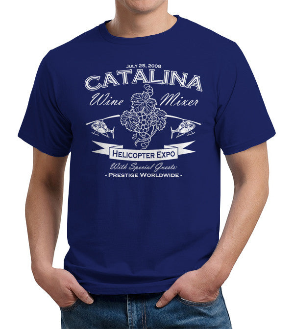Catalina Wine Mixer T-Shirt - FiveFingerTees