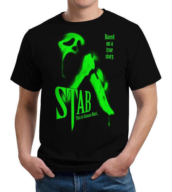 Stab Movie T-Shirt - FiveFingerTees