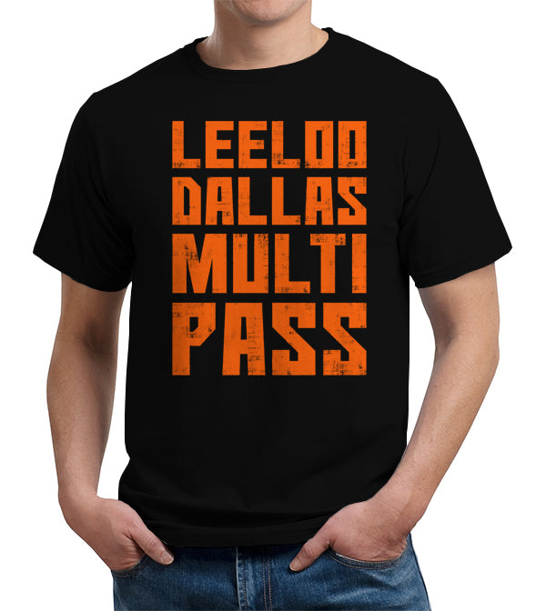 Leeloo Dallas Multipass T-Shirt - FiveFingerTees