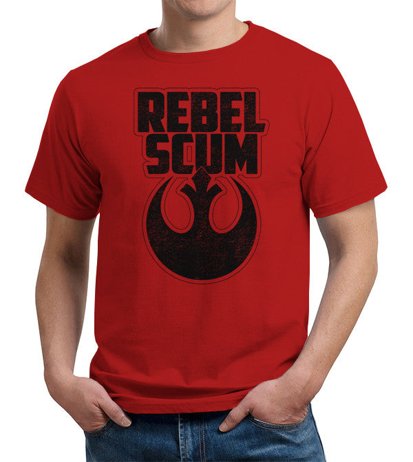 Rebel Scum T-Shirt - FiveFingerTees
