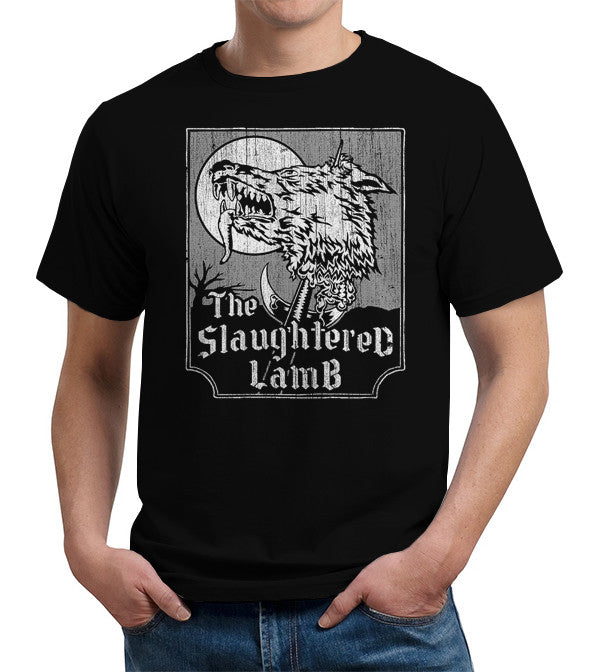 The Slaughtered Lamb T-Shirt - FiveFingerTees