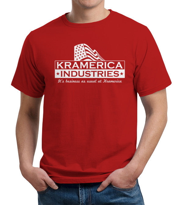 Kramerica Industries T-Shirt - FiveFingerTees
