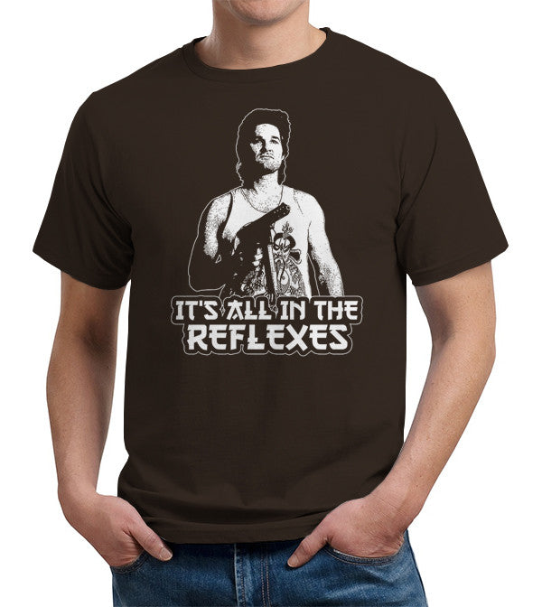 It's All In The Reflexes T-Shirt - FiveFingerTees
