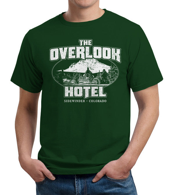 The Overlook Hotel T-Shirt - FiveFingerTees