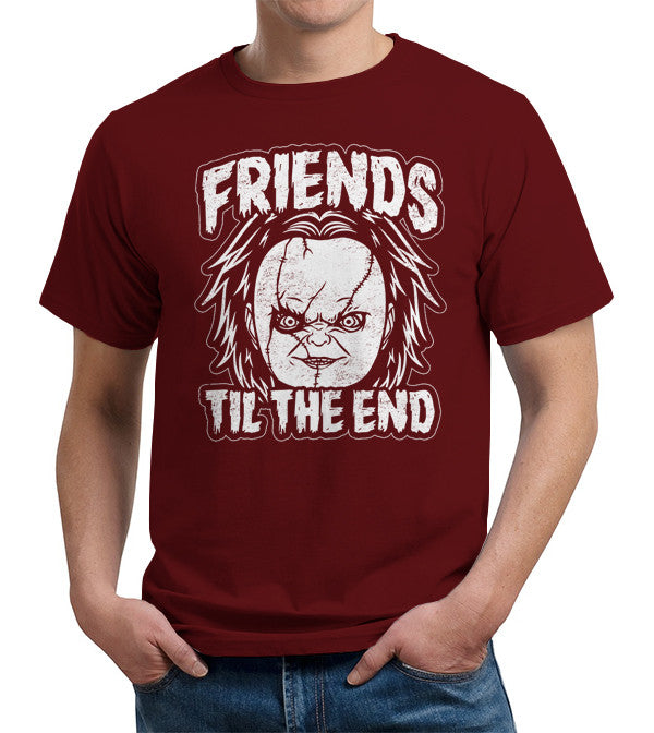 Friends Til The End Chucky T-Shirt - FiveFingerTees