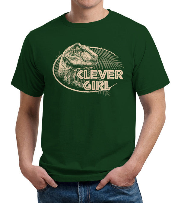Clever Girl T-Shirt - FiveFingerTees