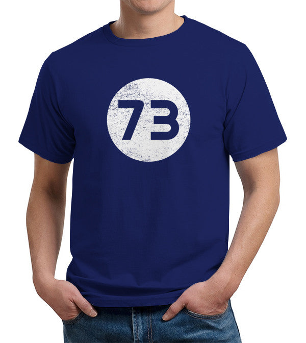 Sheldon Cooper's 73 T-Shirt - FiveFingerTees